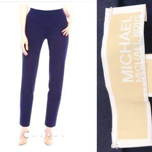 MICHAEL KORS NWT Navy Hi-Rise Skinny Pull-on Pants